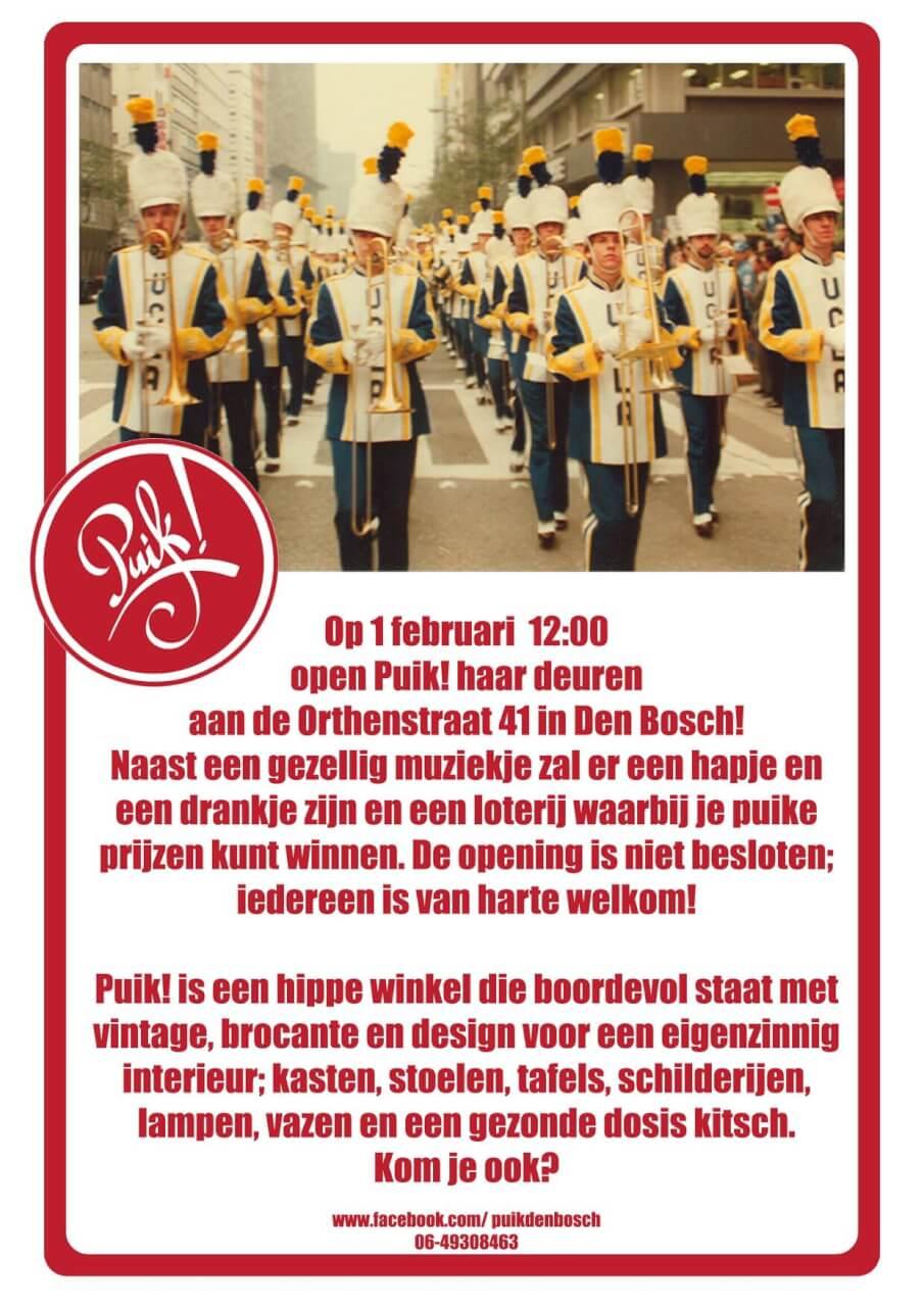 Opening PUIK 's-Hertogenbosch