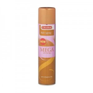 mega strong hairspray
