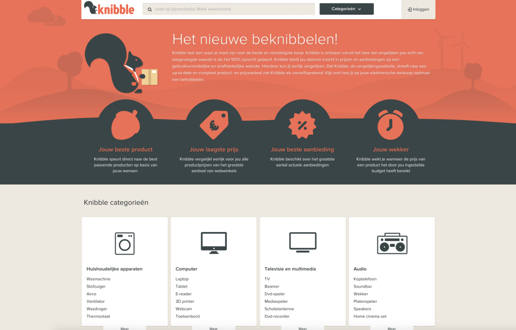 Knibble website