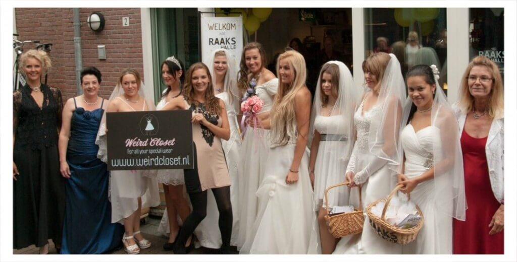 Weird Closet: betaalbare bruidsjurken op maat