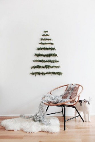 25 (low budget) alternatieven voor de traditionele kerstboom!
