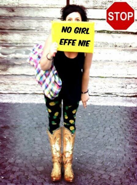 No girl effe nie