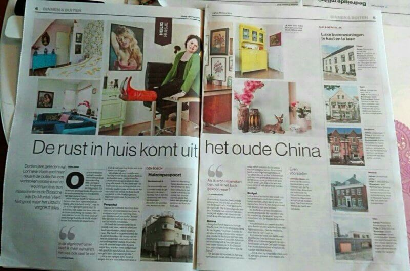 Interview 'Heilig Huisje' in Brabants Dagblad
