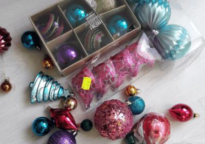 Kerst versiering lowbudget