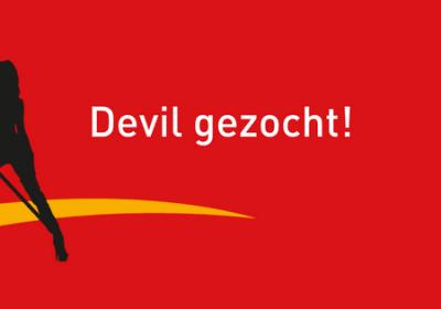 The Devil Wears Wibra zoekt devil