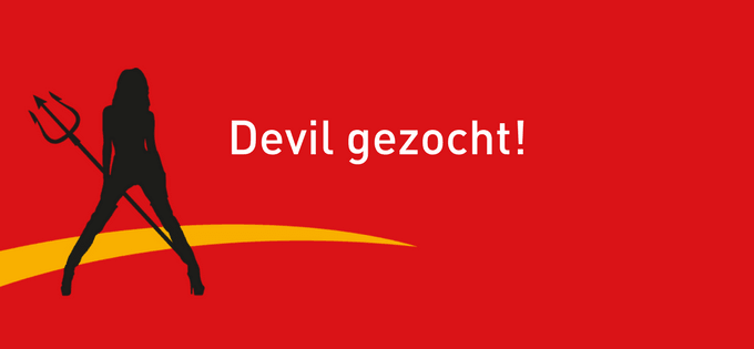 The Devil Wears Wibra zoekt devil