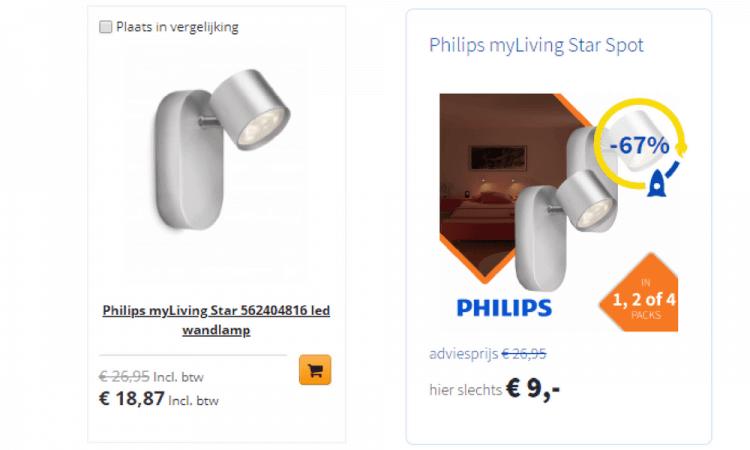 prijzen vergelijken