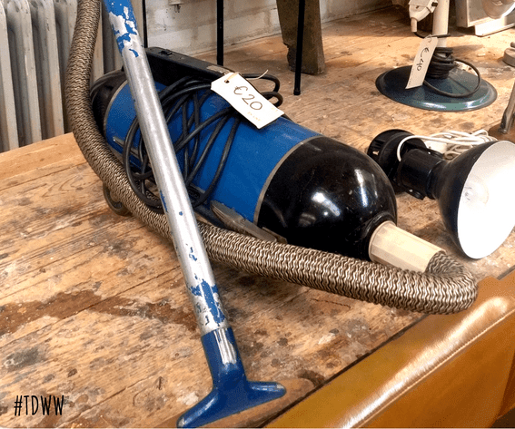 The House of Cool vintage vacuumcleaner