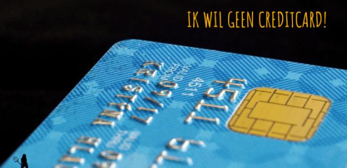 alles zonder creditcard