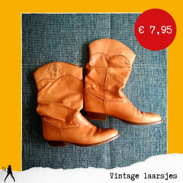 vintage laarzen vinted