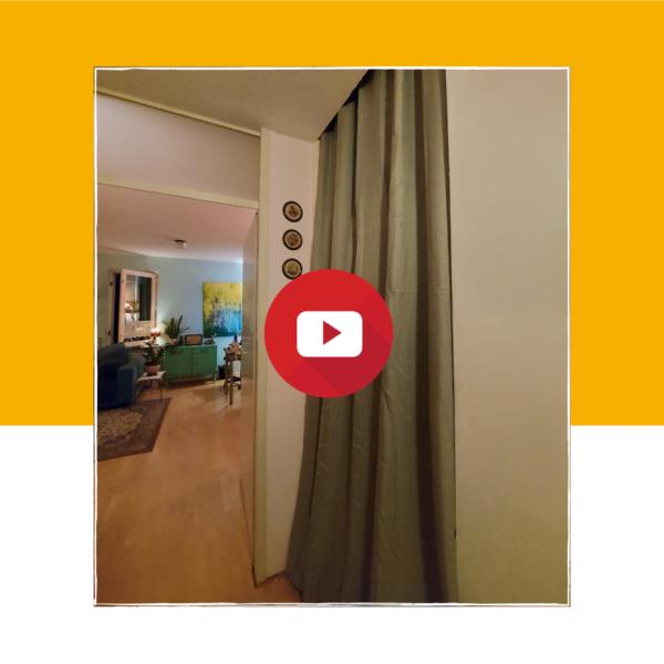 Video: bespaar energie met een gordijn in je trappengat